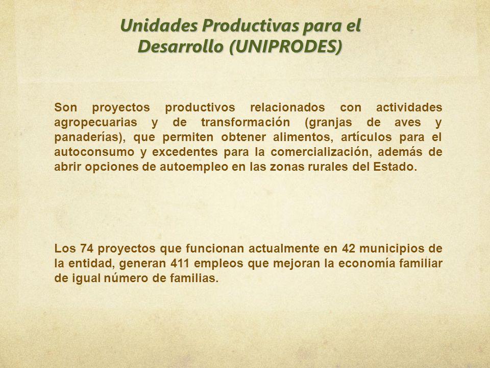 Unidades Productivas para el Desarrollo (UNIPRODES)