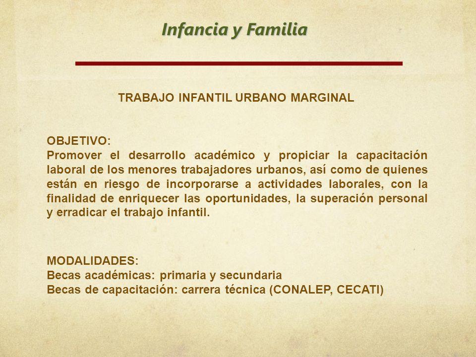 TRABAJO INFANTIL URBANO MARGINAL