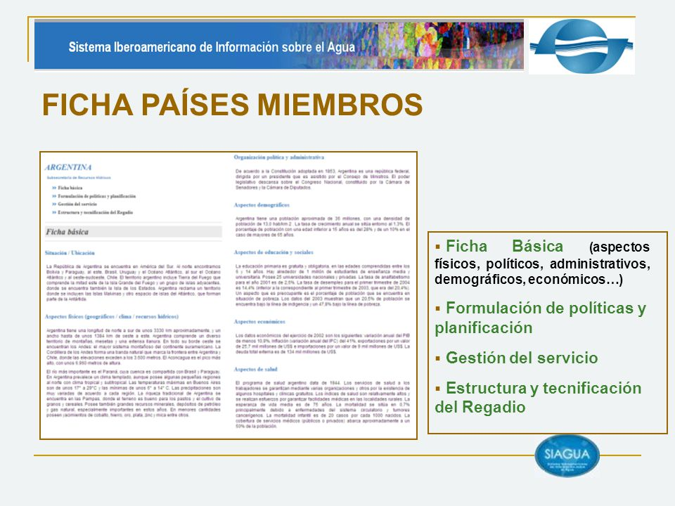 FICHA PAÍSES MIEMBROS Ficha Básica (aspectos físicos, políticos, administrativos, demográficos, económicos…)