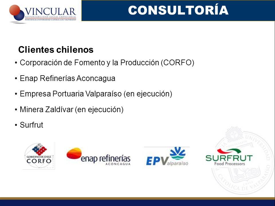 CONSULTORÍA Clientes chilenos
