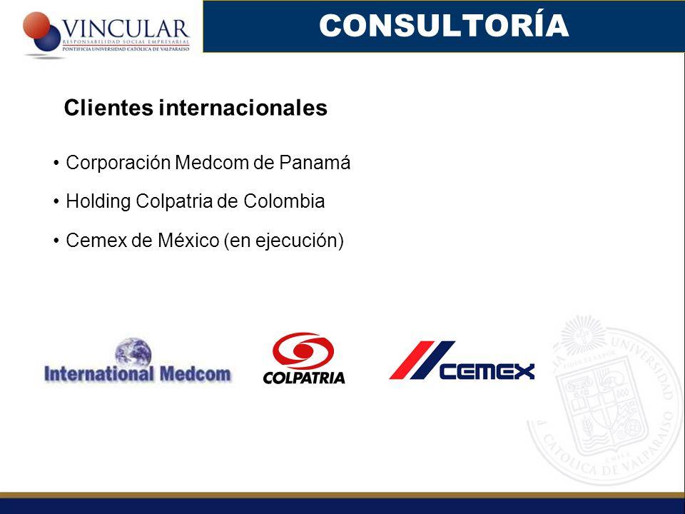 CONSULTORÍA Clientes internacionales Corporación Medcom de Panamá
