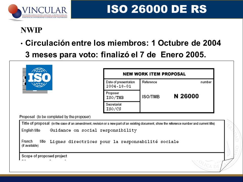 ISO 26000 DE RS NWIP.
