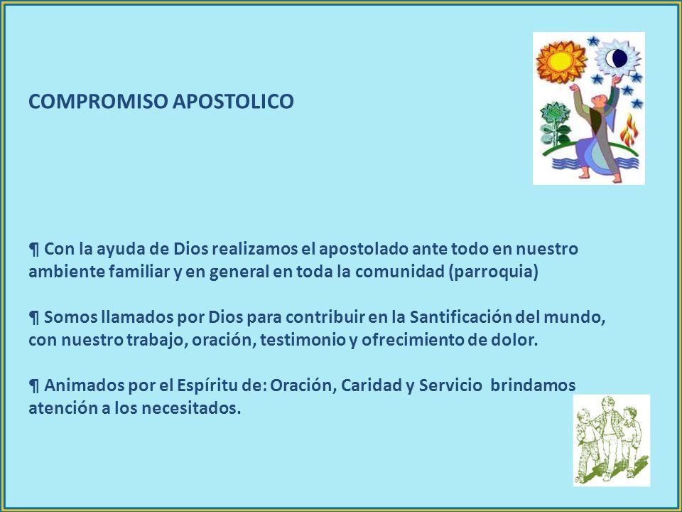 COMPROMISO APOSTOLICO