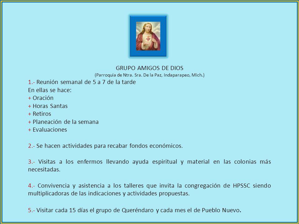 (Parroquia de Ntra. Sra. De la Paz, Indaparapeo, Mich.)