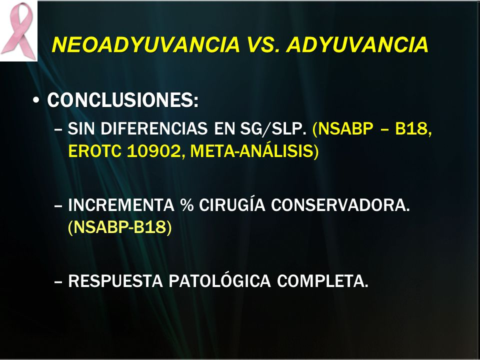 NEOADYUVANCIA VS. ADYUVANCIA
