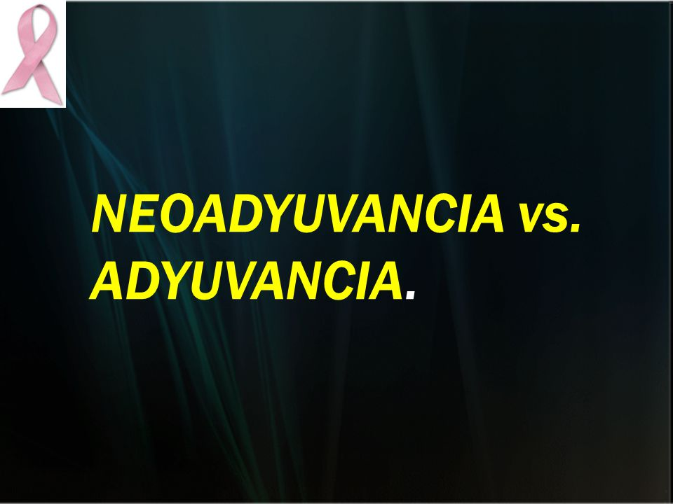 NEOADYUVANCIA vs. ADYUVANCIA.