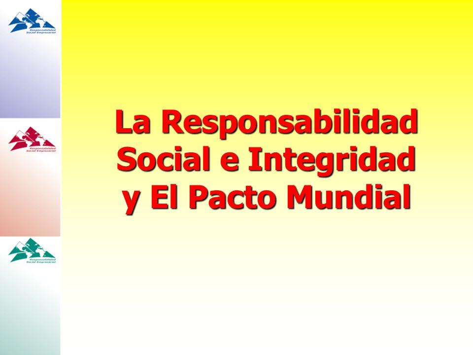La Responsabilidad Social e Integridad y El Pacto Mundial