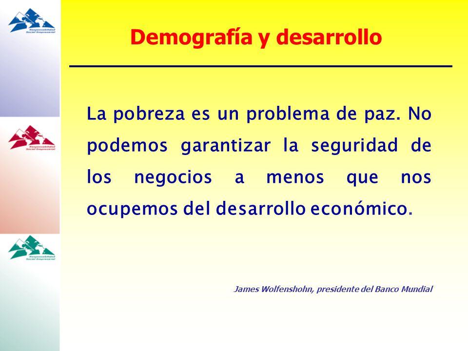 Demografía y desarrollo