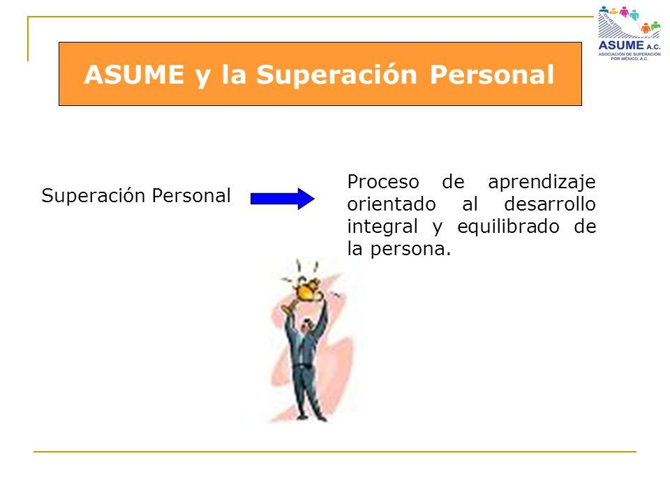 ASUME y la Superación Personal