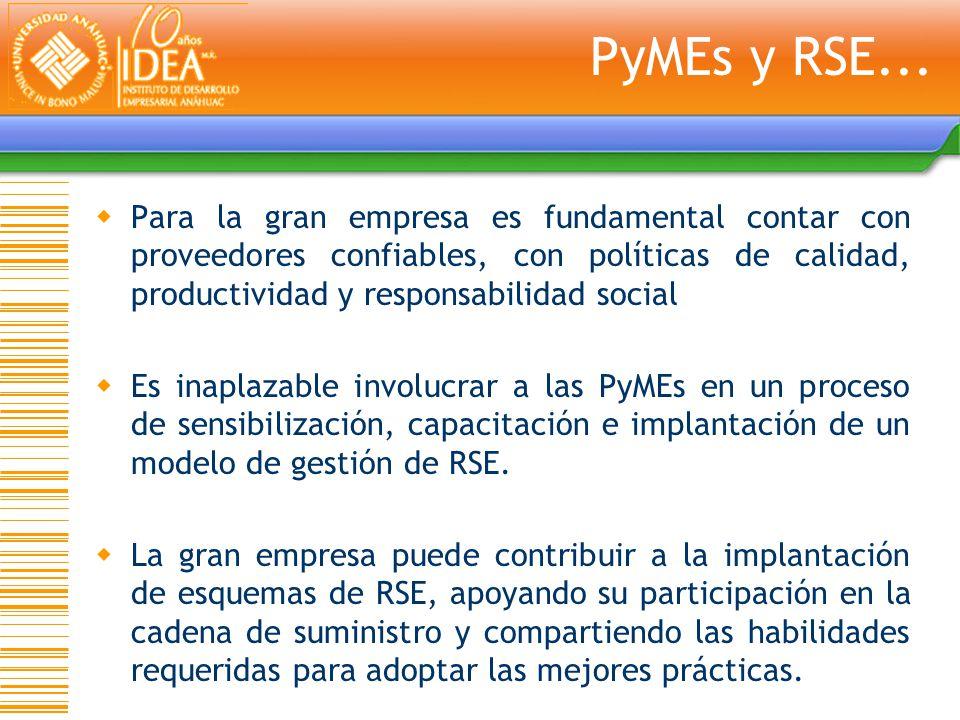 PyMEs y RSE...