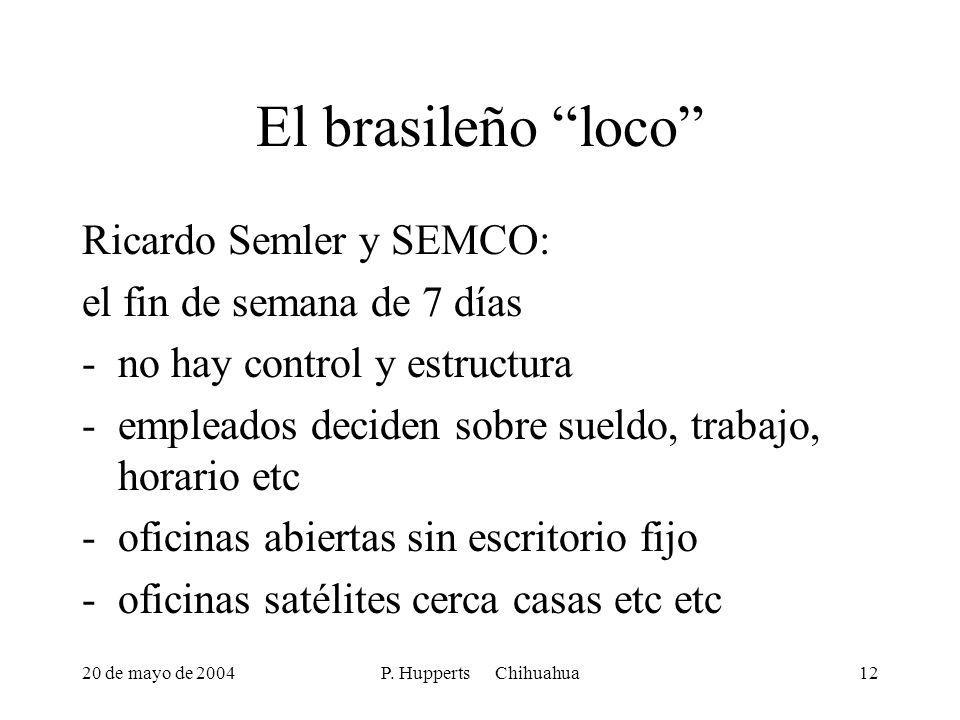 El brasileño loco Ricardo Semler y SEMCO: el fin de semana de 7 días