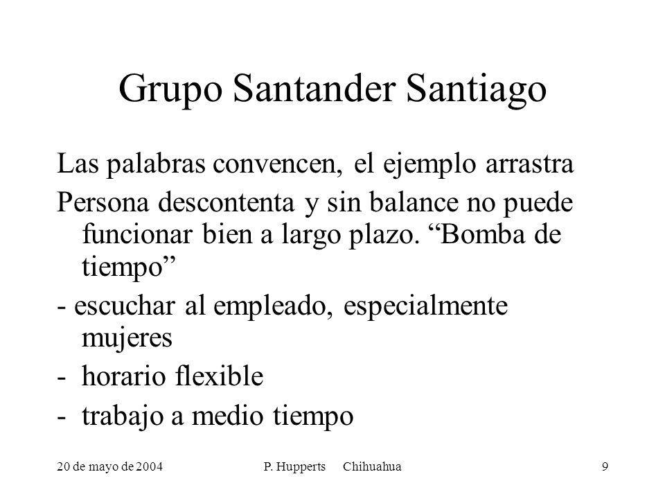 Grupo Santander Santiago