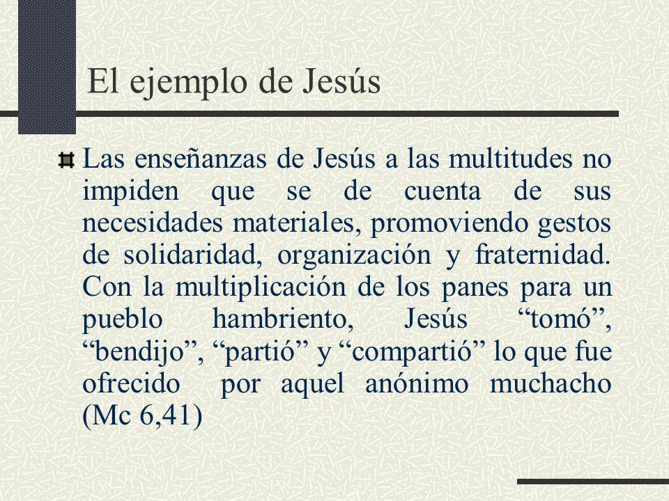 El ejemplo de Jesús