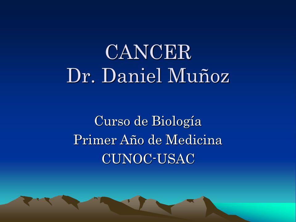 Curso de Biología Primer Año de Medicina CUNOC-USAC