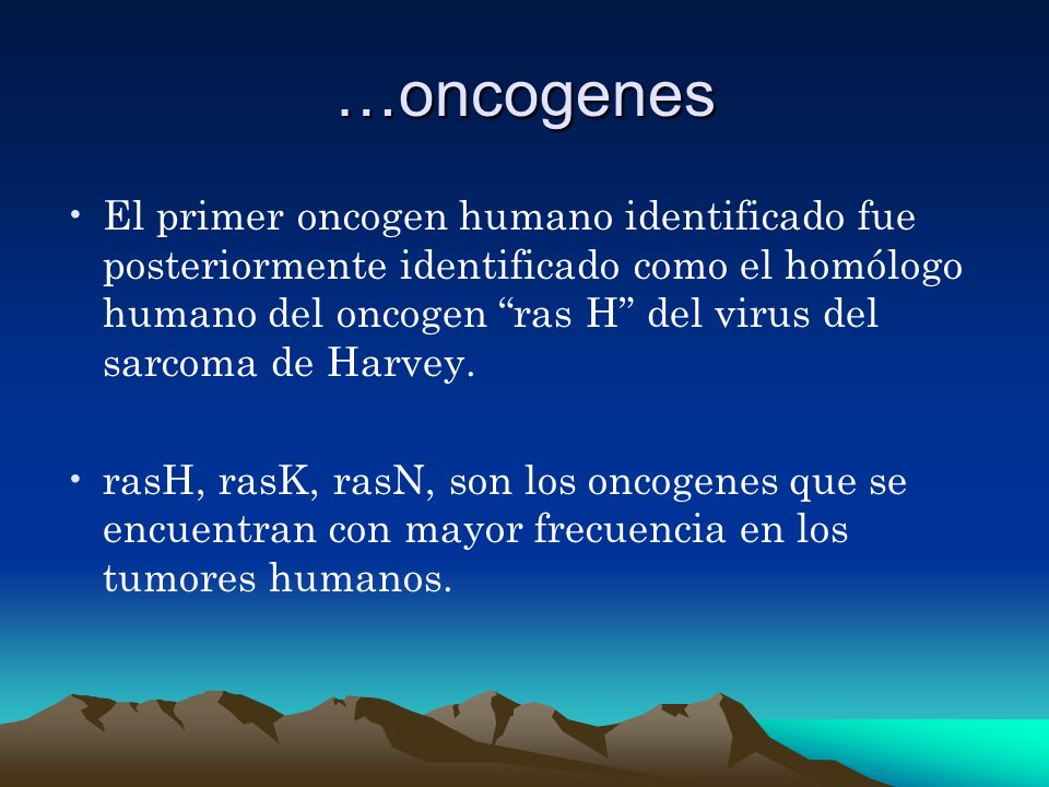 …oncogenes