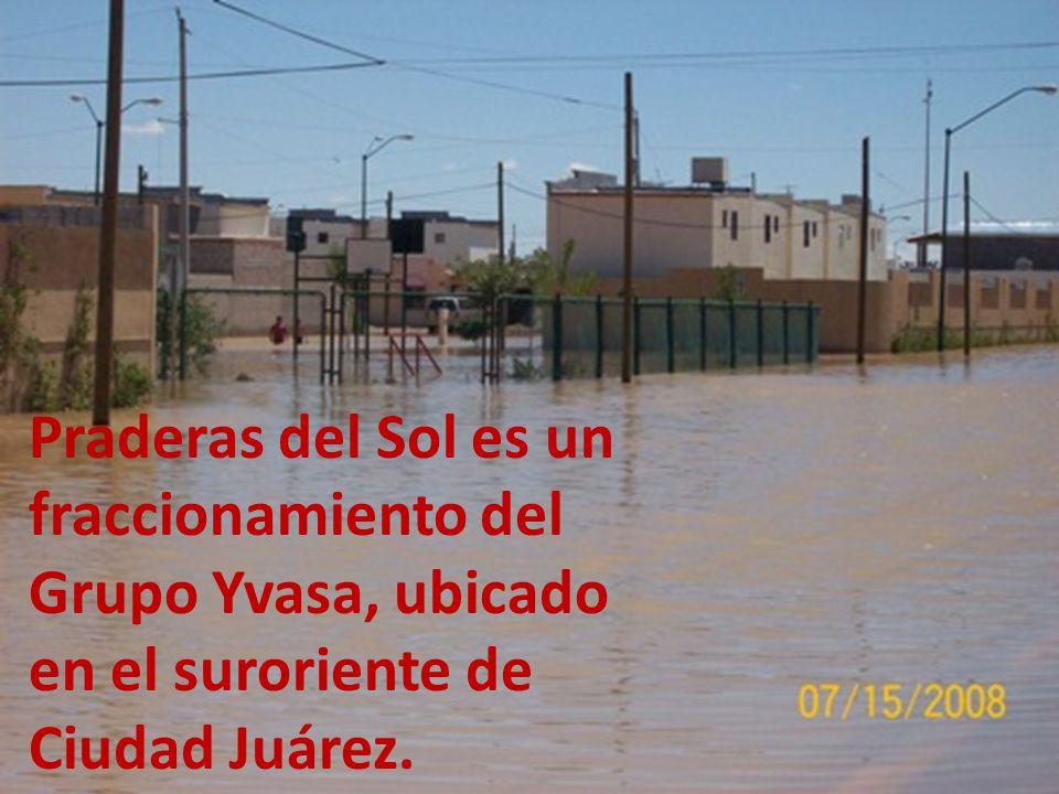 Praderas del Sol es un fraccionamiento del Grupo Yvasa, ubicado en el suroriente de Ciudad Juárez.