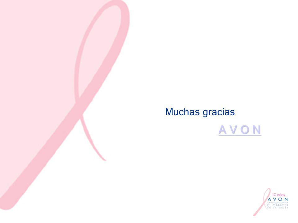 Muchas gracias A V O N