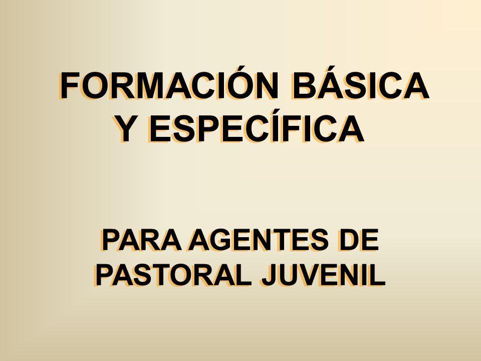 FORMACIÓN BÁSICA Y ESPECÍFICA