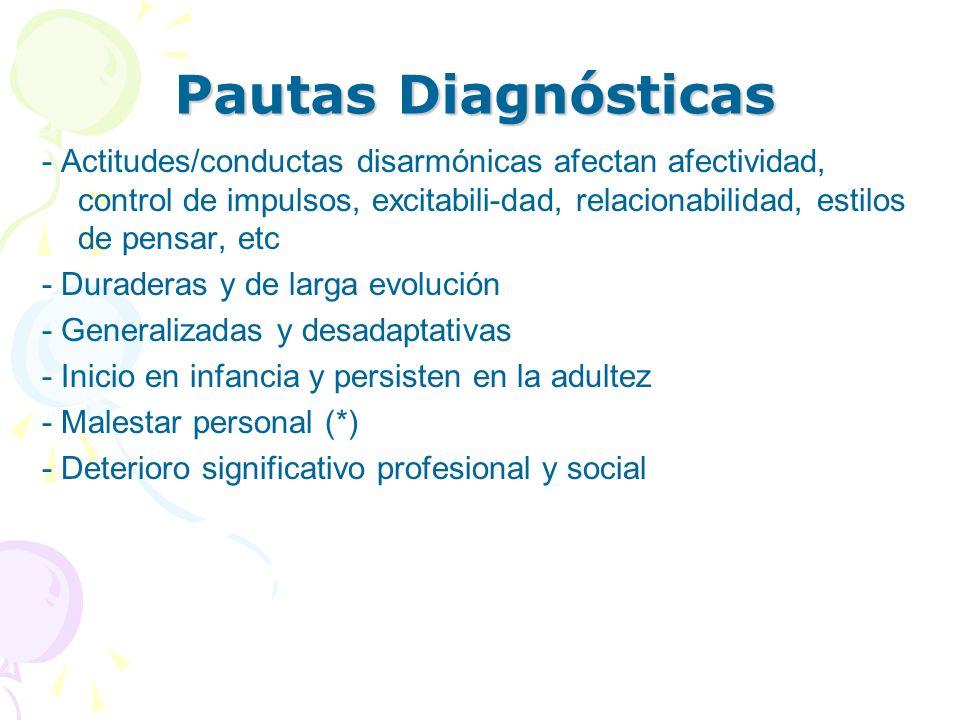 Pautas Diagnósticas