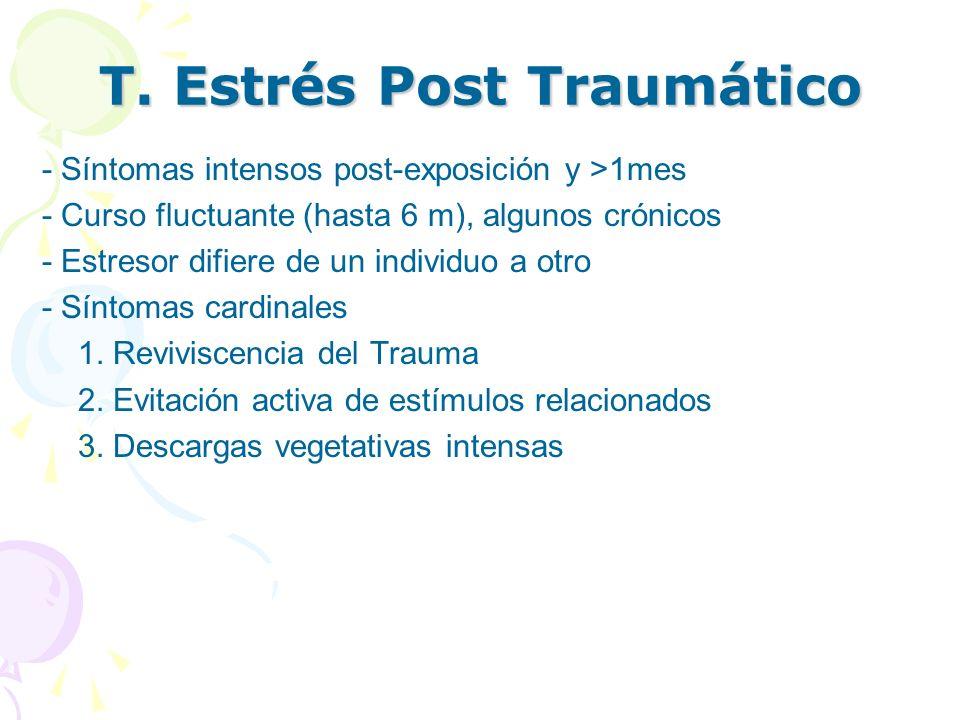 T. Estrés Post Traumático