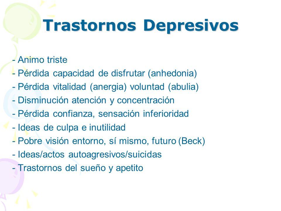 Trastornos Depresivos