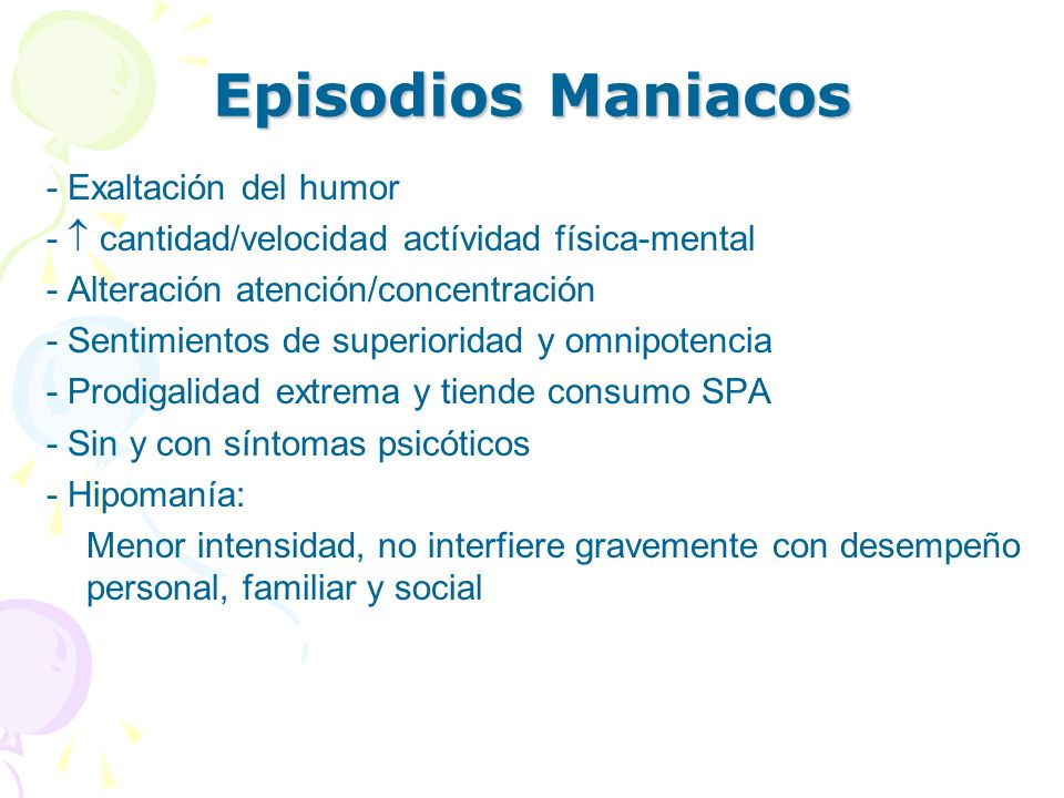 Episodios Maniacos - Exaltación del humor