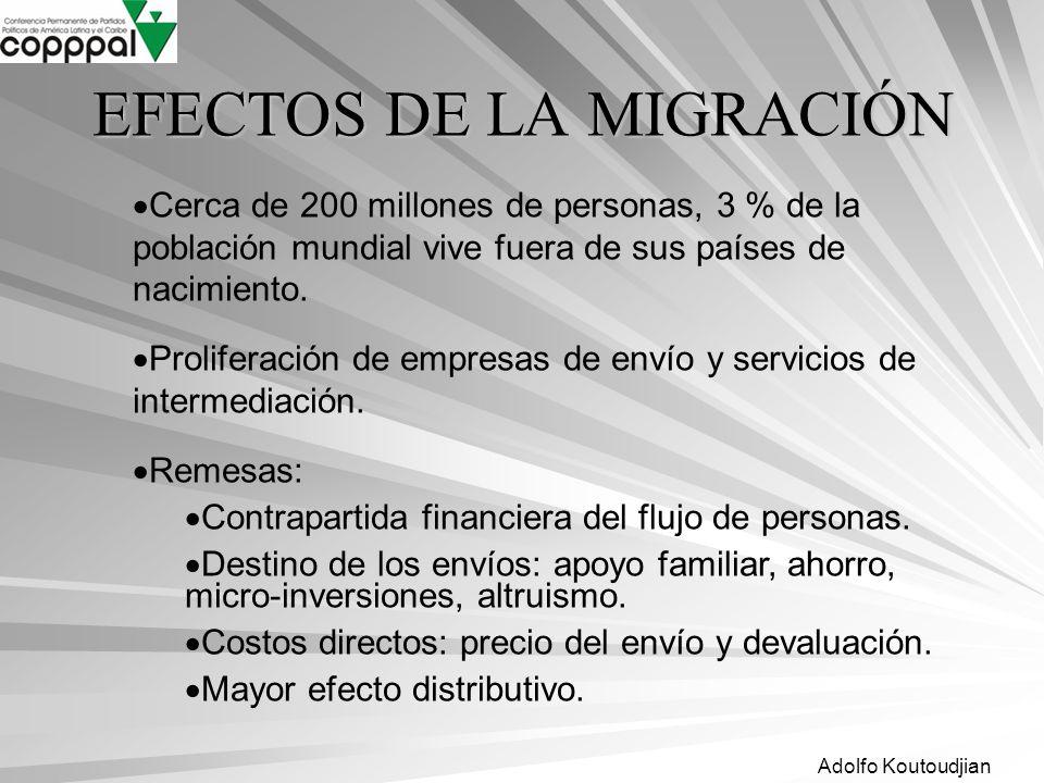 EFECTOS DE LA MIGRACIÓN