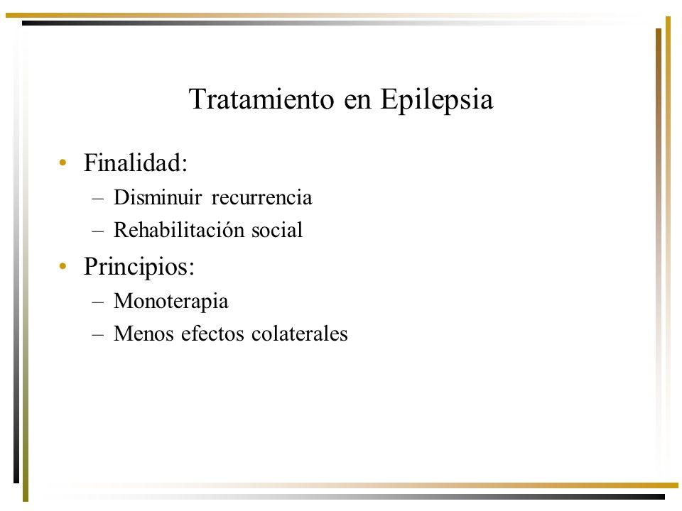 Tratamiento en Epilepsia