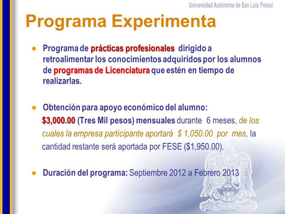 Programa Experimenta