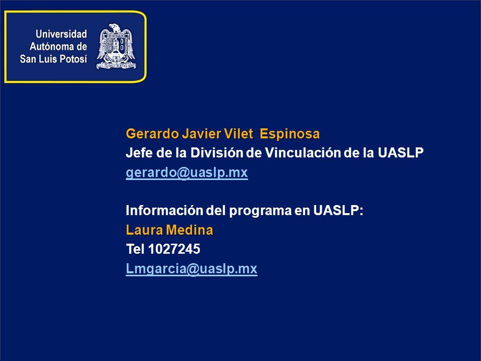 Gerardo Javier Vilet Espinosa