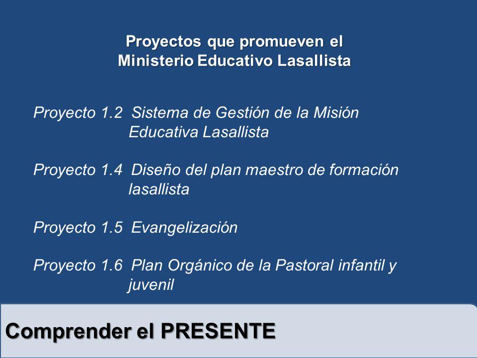 Proyectos que promueven el Ministerio Educativo Lasallista