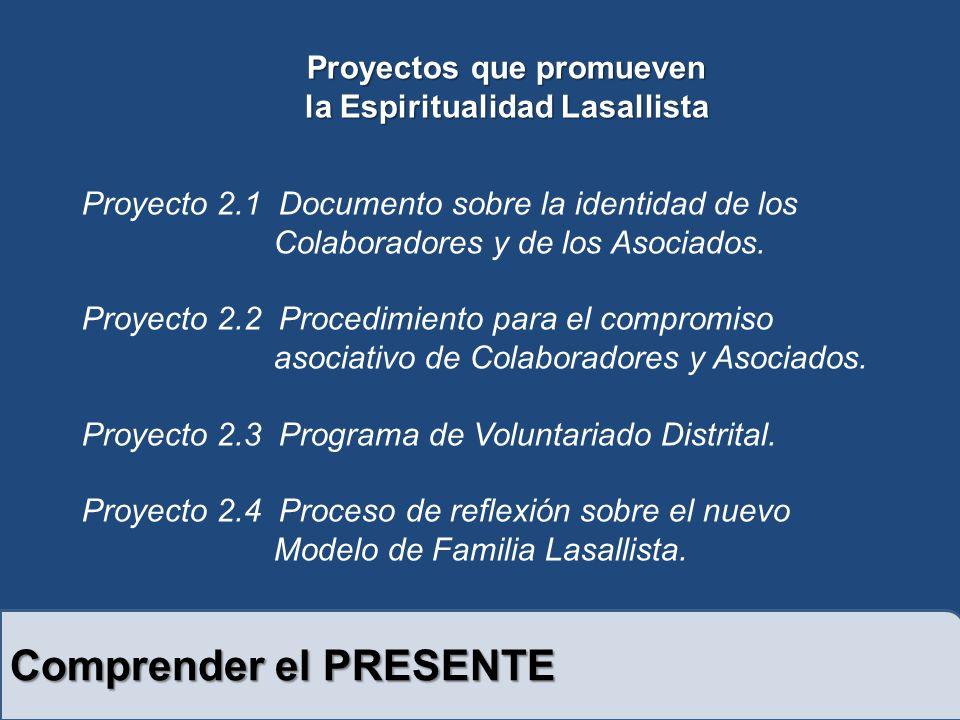 Proyectos que promueven la Espiritualidad Lasallista