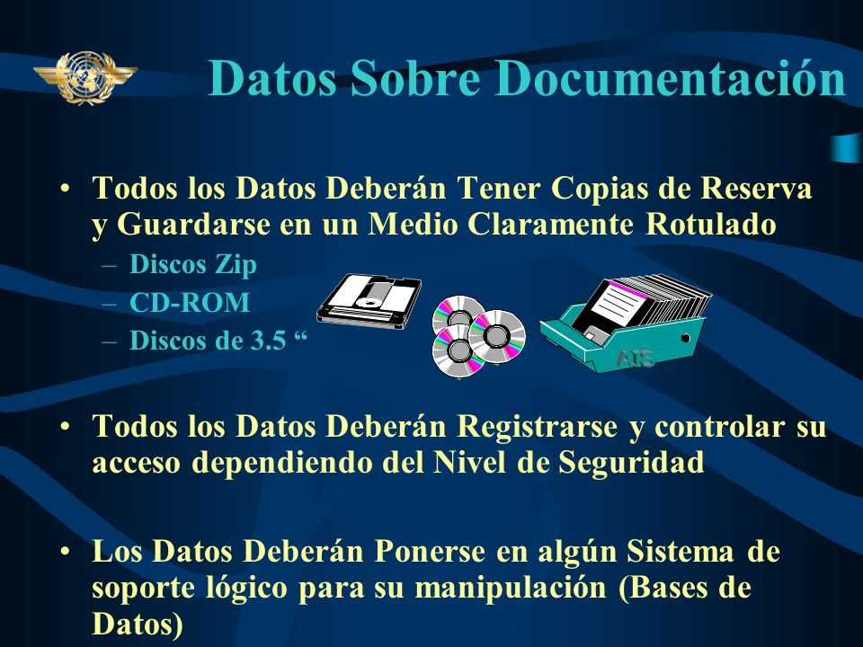 Datos Sobre Documentación