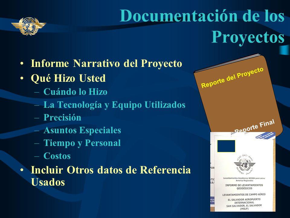 Documentación de los Proyectos