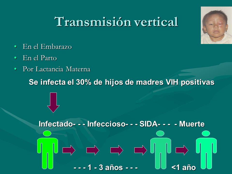Transmisión vertical En el Embarazo En el Parto Por Lactancia Materna