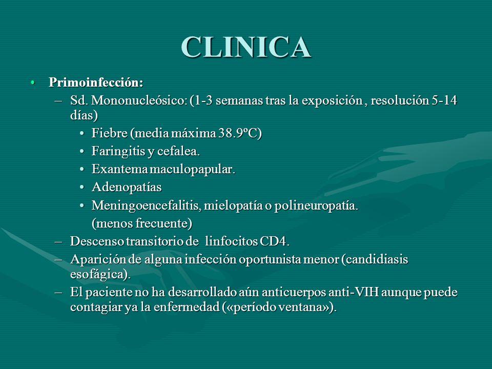 CLINICA Primoinfección: