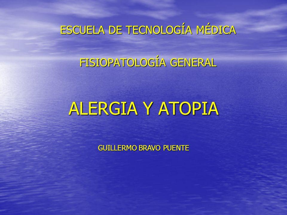 ESCUELA DE TECNOLOGÍA MÉDICA FISIOPATOLOGÍA GENERAL