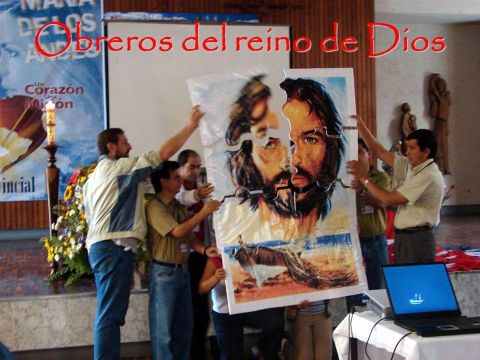Obreros del reino de Dios