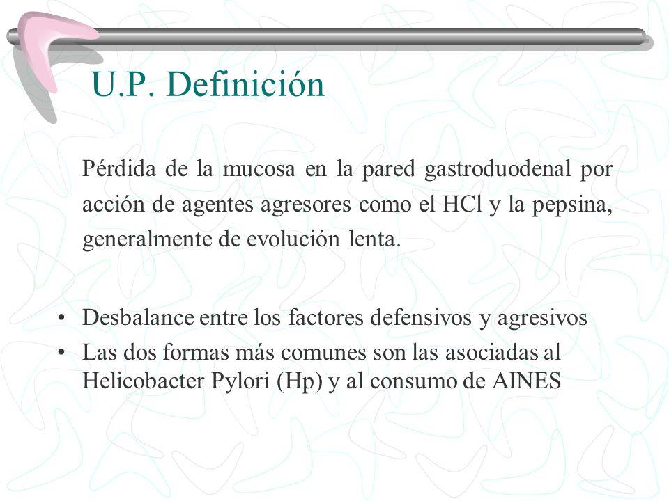 U.P. Definición