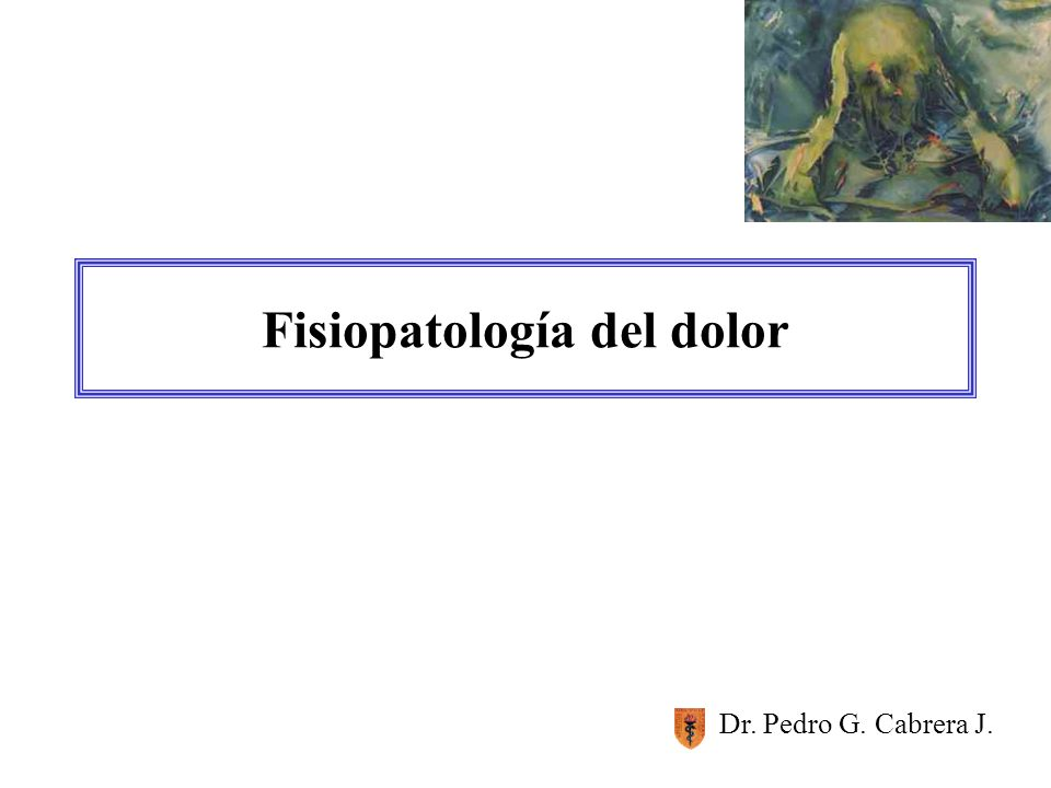 Fisiopatología del dolor - ppt video online descargar