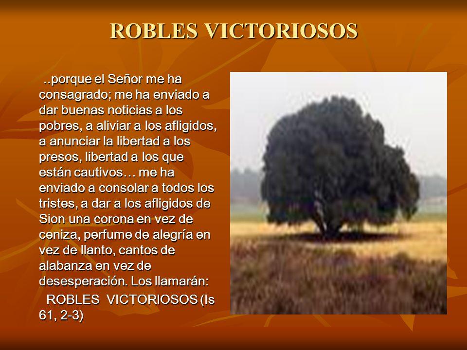 ROBLES VICTORIOSOS