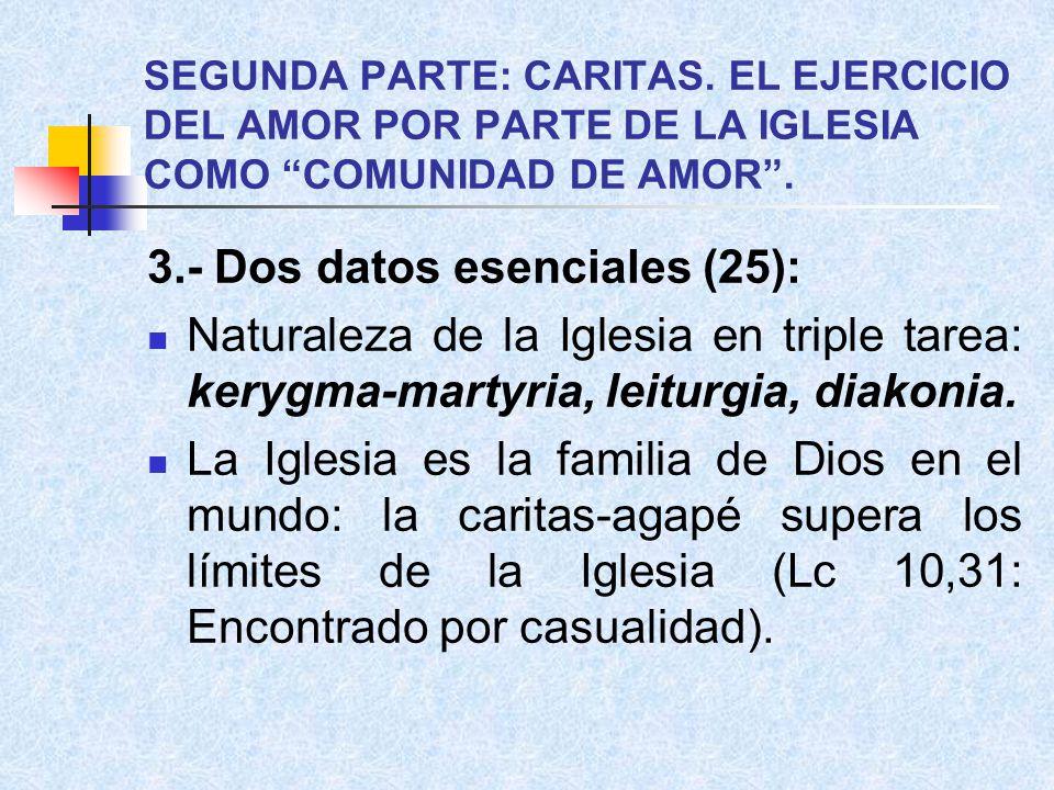 3.- Dos datos esenciales (25):