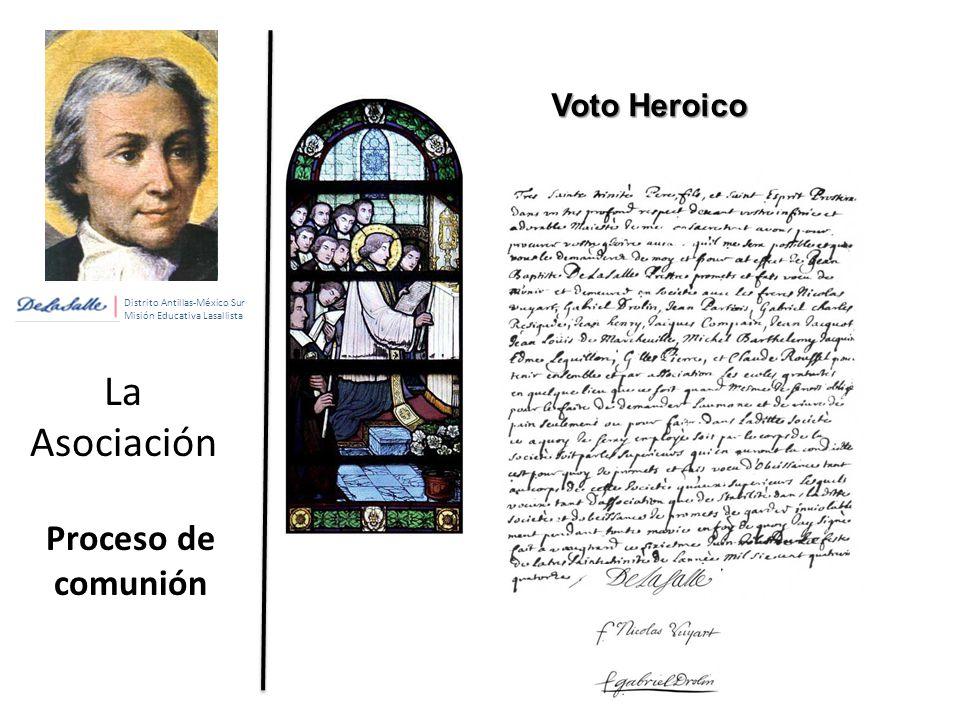 La Asociación Proceso de comunión Voto Heroico