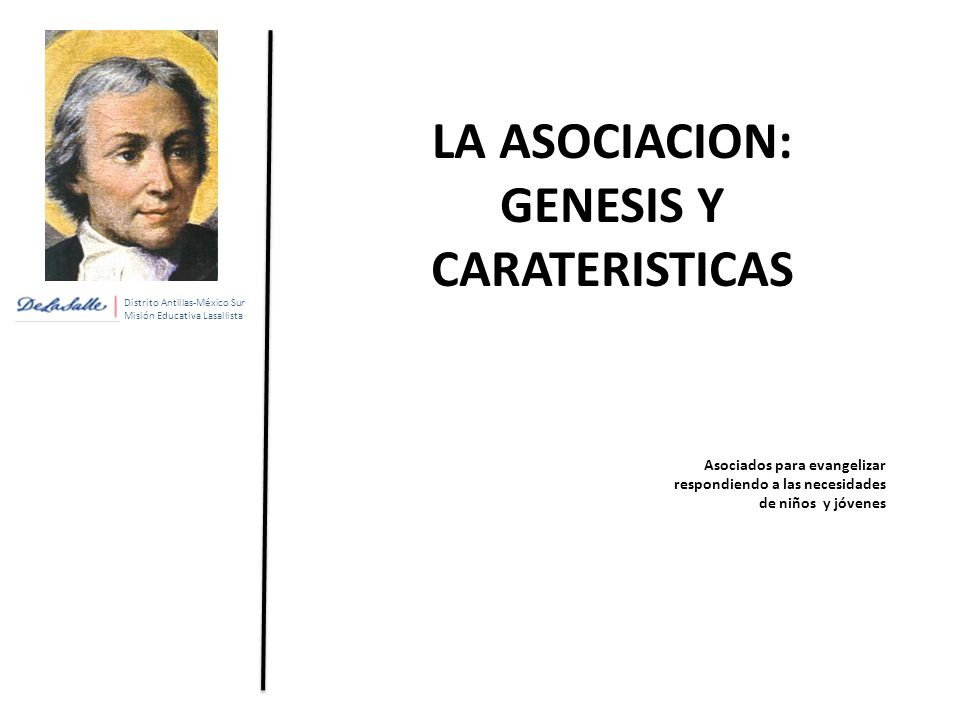 LA ASOCIACION: GENESIS Y CARATERISTICAS