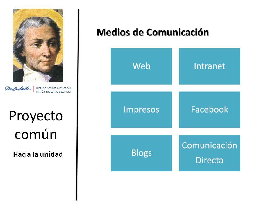 Proyecto común Medios de Comunicación Hacia la unidad