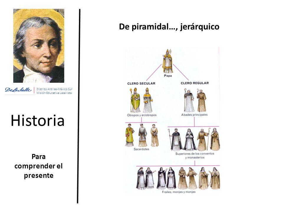 De piramidal…, jerárquico Para comprender el presente