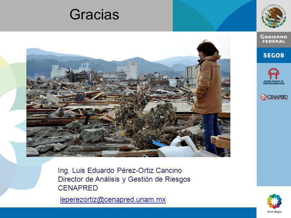 Gracias Ing. Luis Eduardo Pérez-Ortiz Cancino