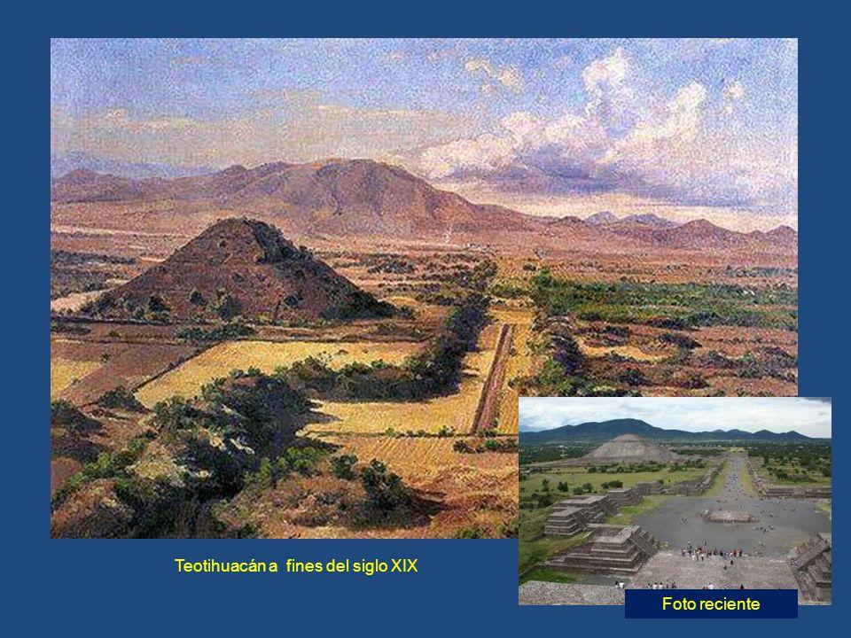 Teotihuacán a fines del siglo XIX