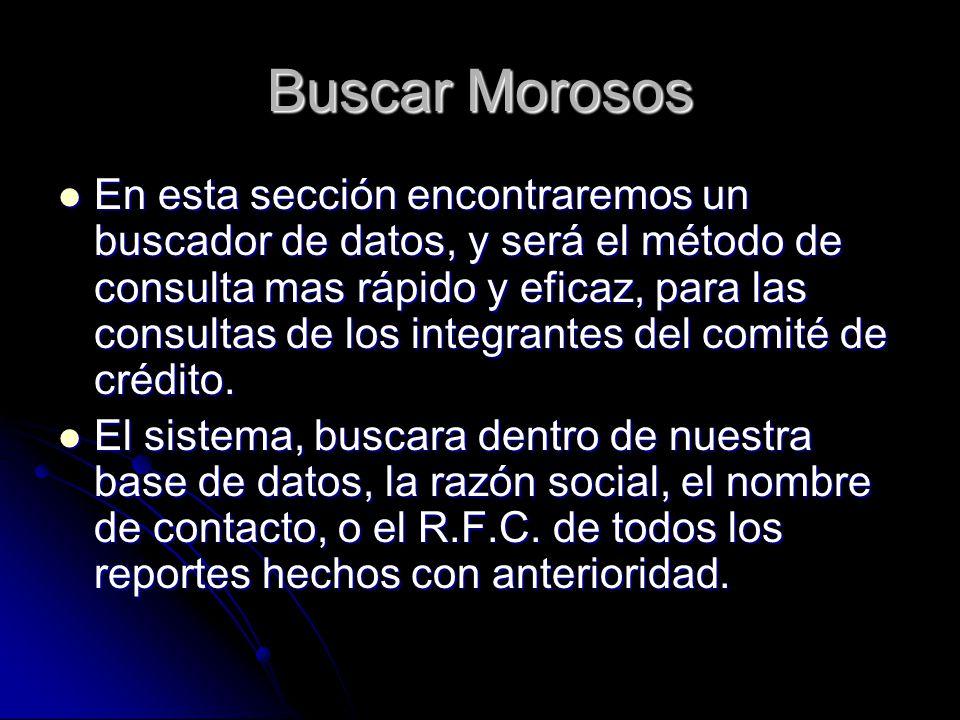 Buscar Morosos
