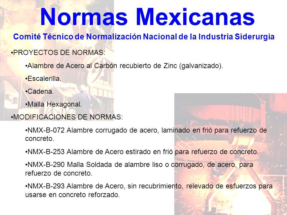 Comité Técnico de Normalización Nacional de la Industria Siderurgia